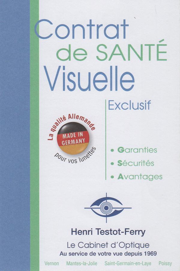 Exclusif : Le Contrat de Santé Visuelle
